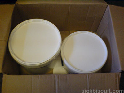 Bulk Powders - Box Opened