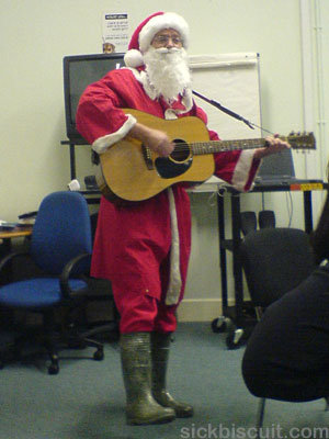 Secret Santa - Paul Singing And Strumming