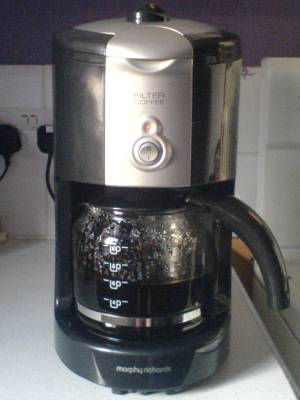 Cracked - the replacement coffee machine